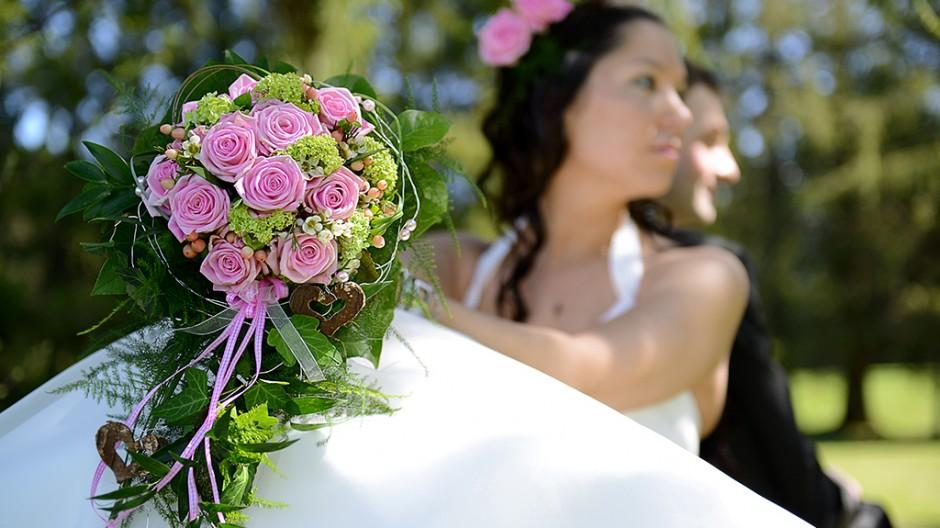 Hochzeitsfotograf Allgäu schöner Brautstrauß