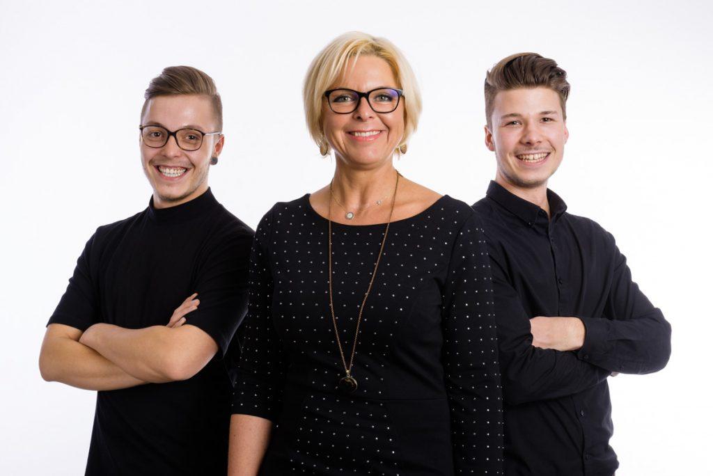 Fotograf Kempten Studio Portrait edelformat Familie