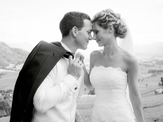 Hochzeitsfotograf Allgaeu Brautpaar Grünten