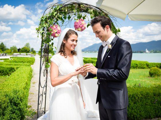 Hochzeitsfotograf Kempten Momente Ringtausch freie Trauung